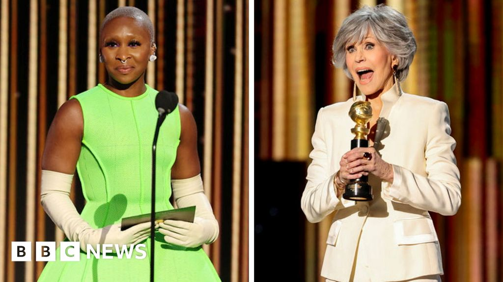 In pictures: Golden Globes stars shine without red carpet