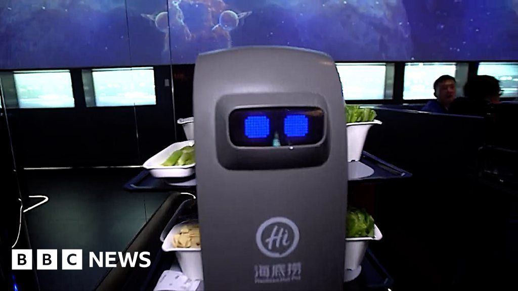 Haidilao: Robots Staff China's Top Hotpot Chain