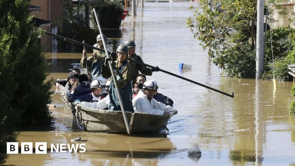 Typhoon Hagibis: Japan deploys military rescuers as deadly storm hits