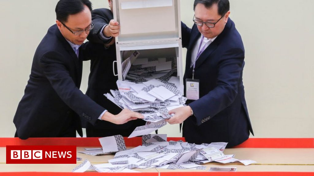 Hong Kong elections: Chinese media attempt to downplay results