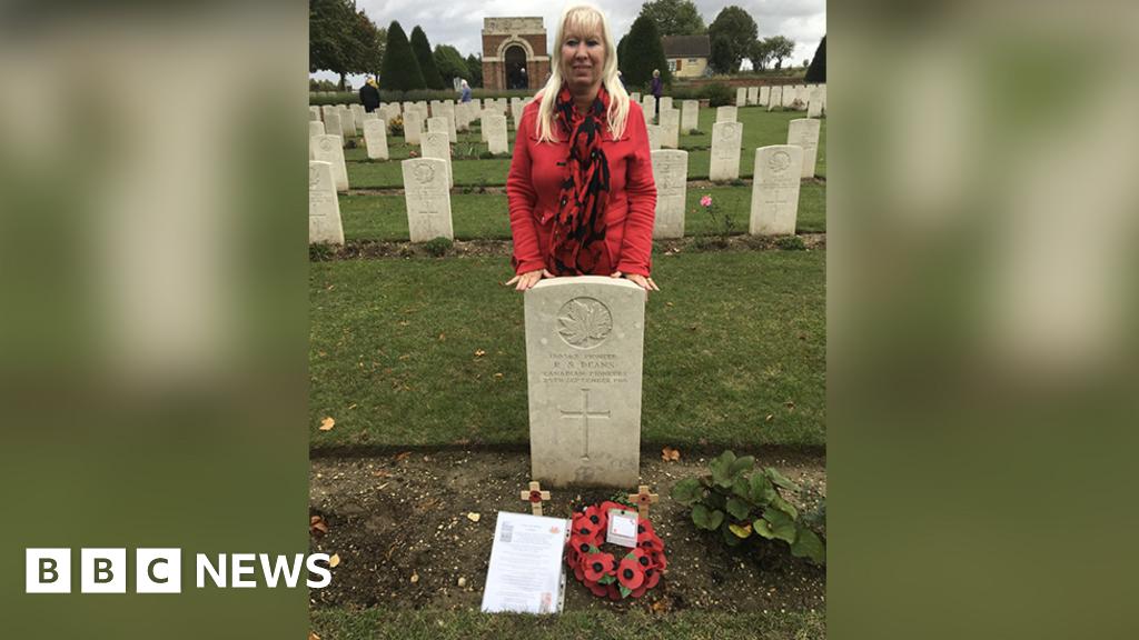 Remembrance Day: Grangetown postcard inspires war grave visit