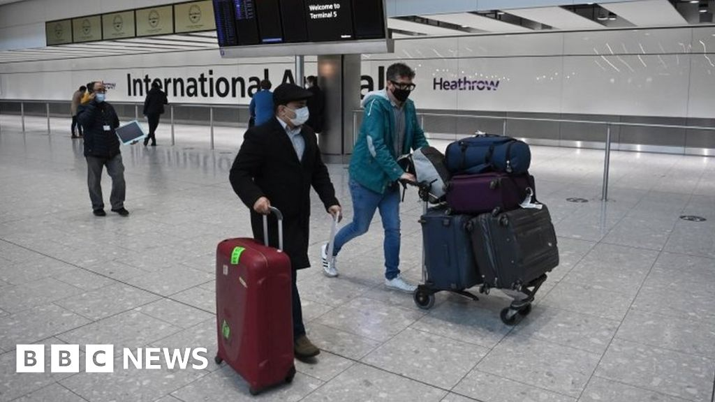 Hotel quarantine for UK arrivals to be discussed