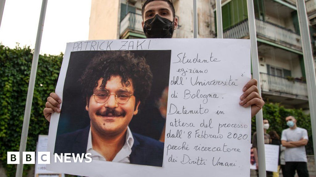 Patrick George Zaki: Egypt rights activist goes on trial over article