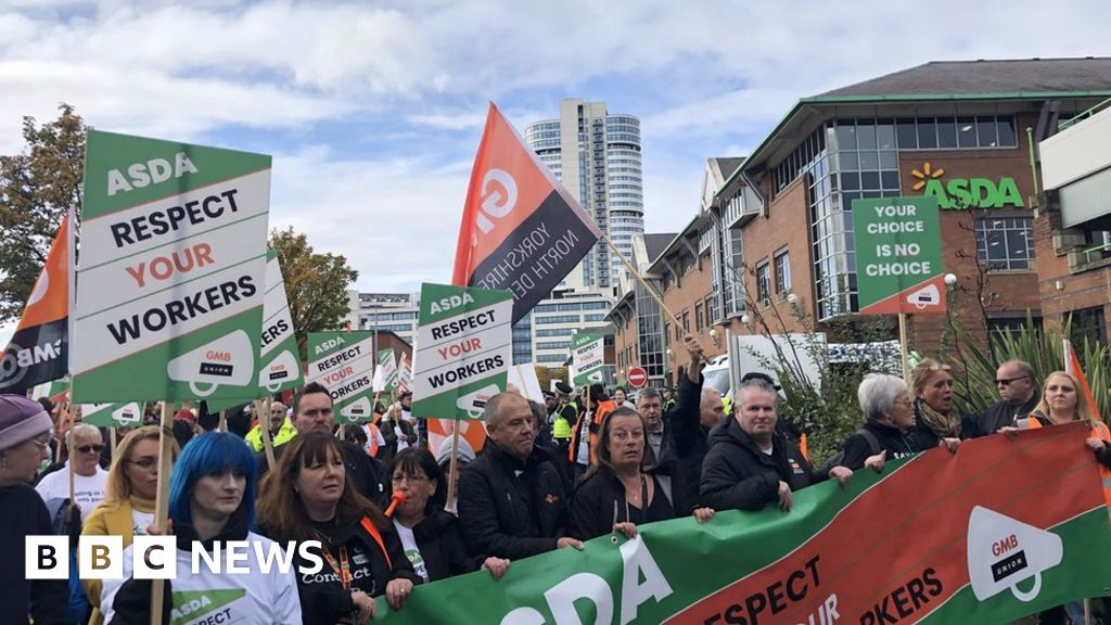Asda workers are  terrified for their jobs