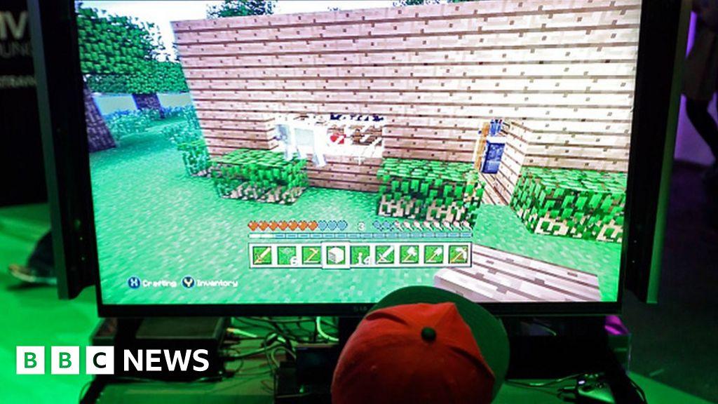 Minecraft Grooming Dangers For Children Gaming Online BBC News - Minecraft tsunami spiele