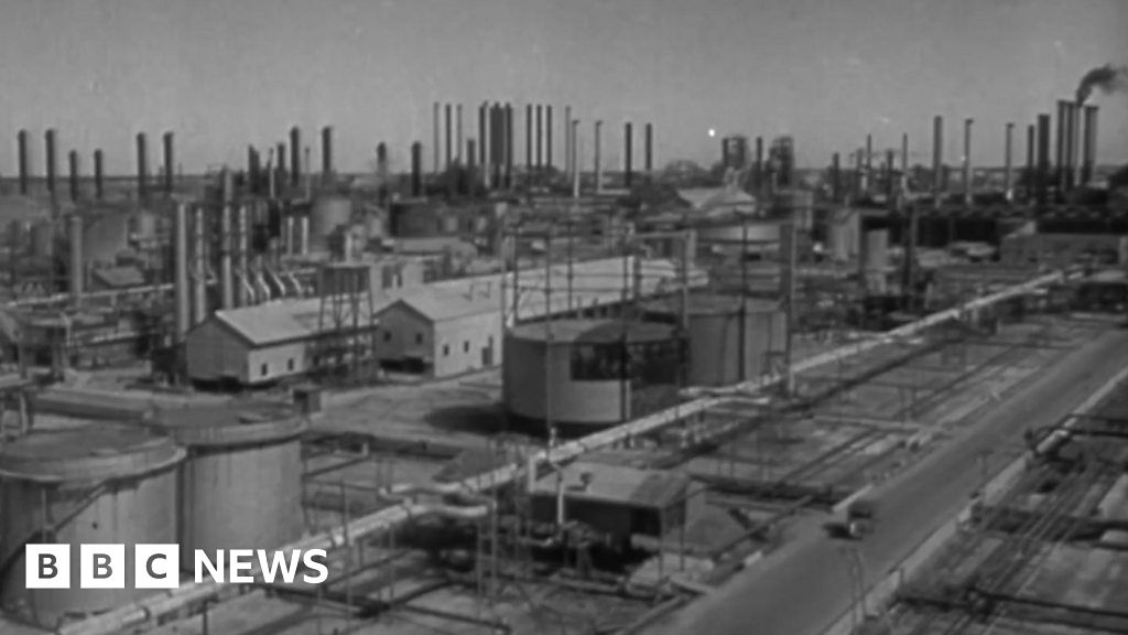 Saudi Aramco's eight decades of history - BBC News