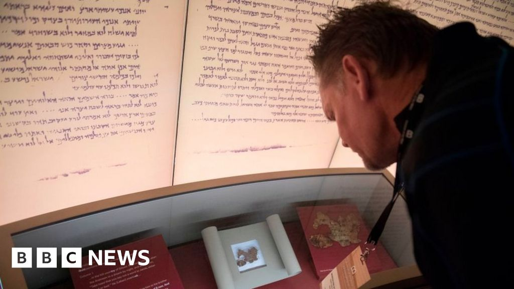 US museum Dead Sea Scroll collection found to be fakes thumbnail