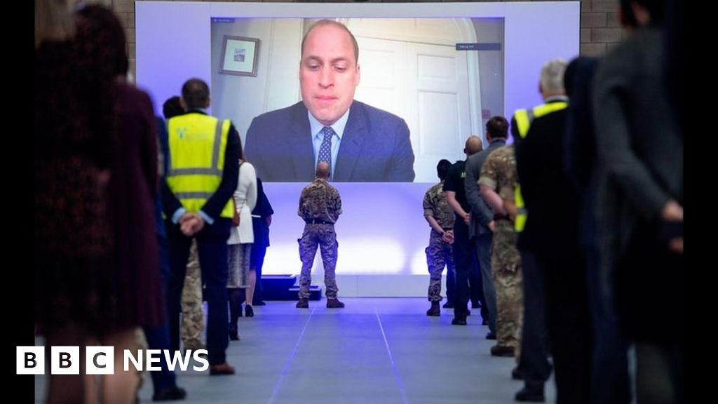 Coronavirus: Prince William Nightingale hospital opens