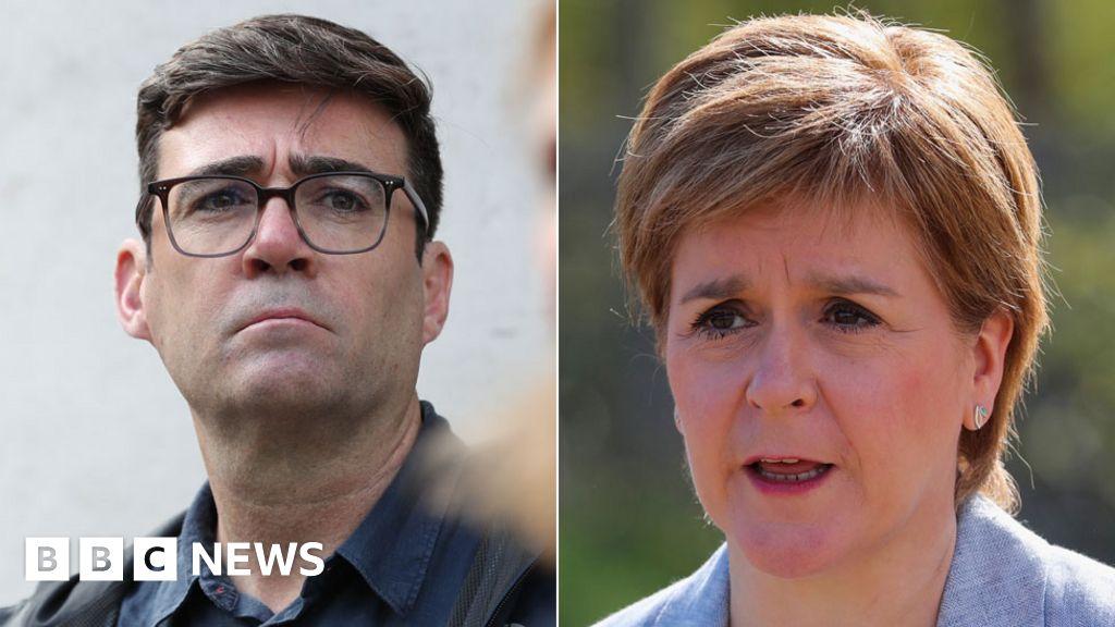 Andy Burnham's anger at Manchester-Scotland travel ban