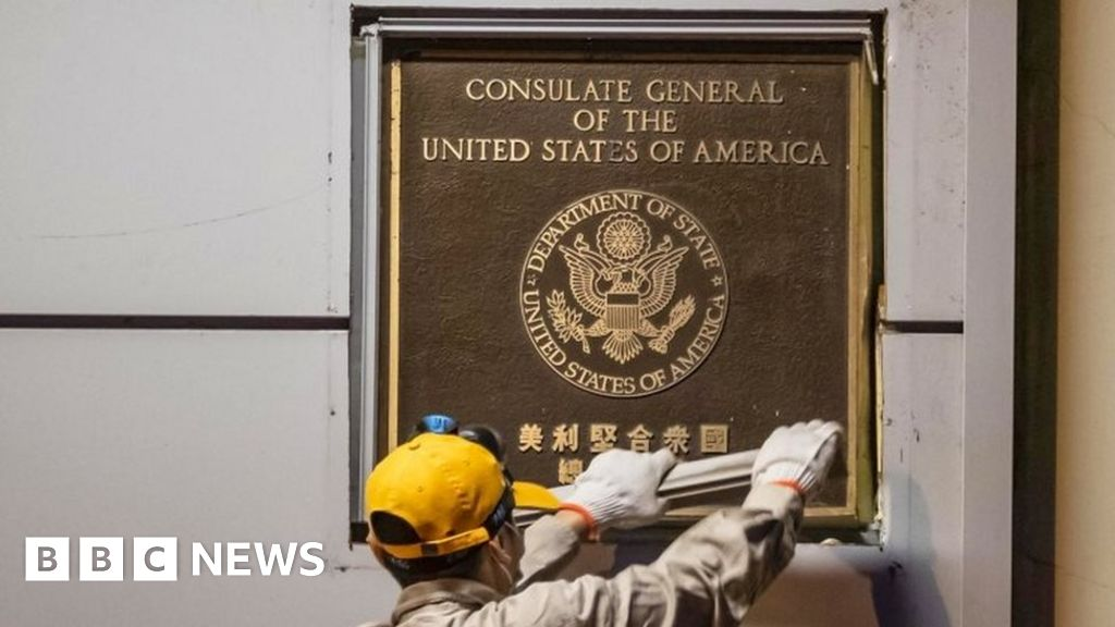 US diplomats to leave consulate in Chengdu in tit-for-tat closures