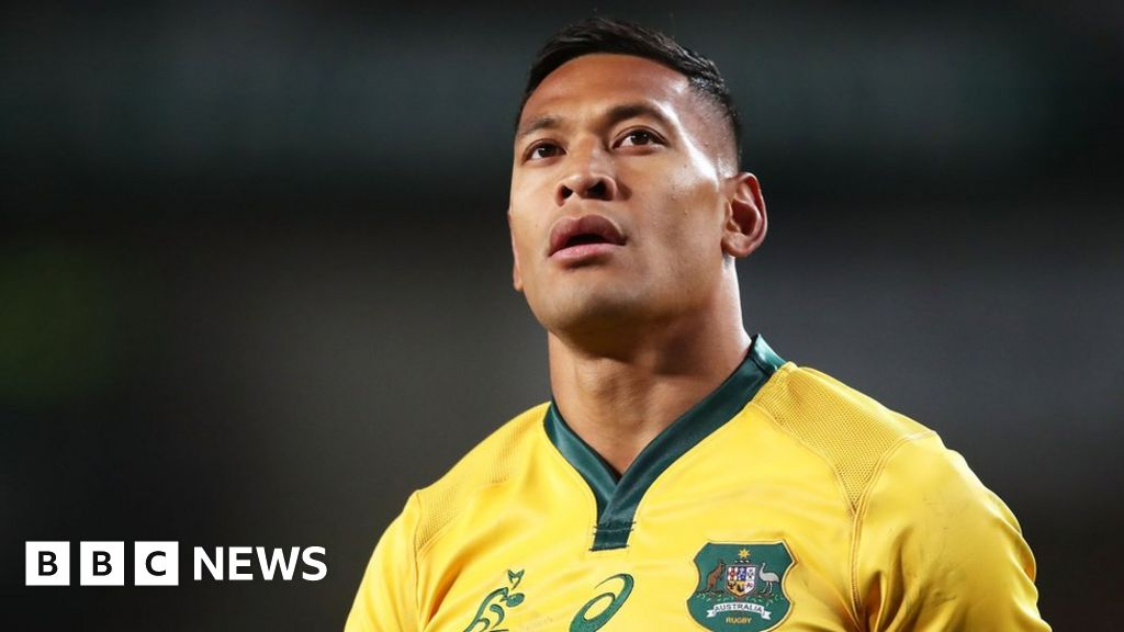 Rugby Australia denies 'backing down' over Folau thumbnail