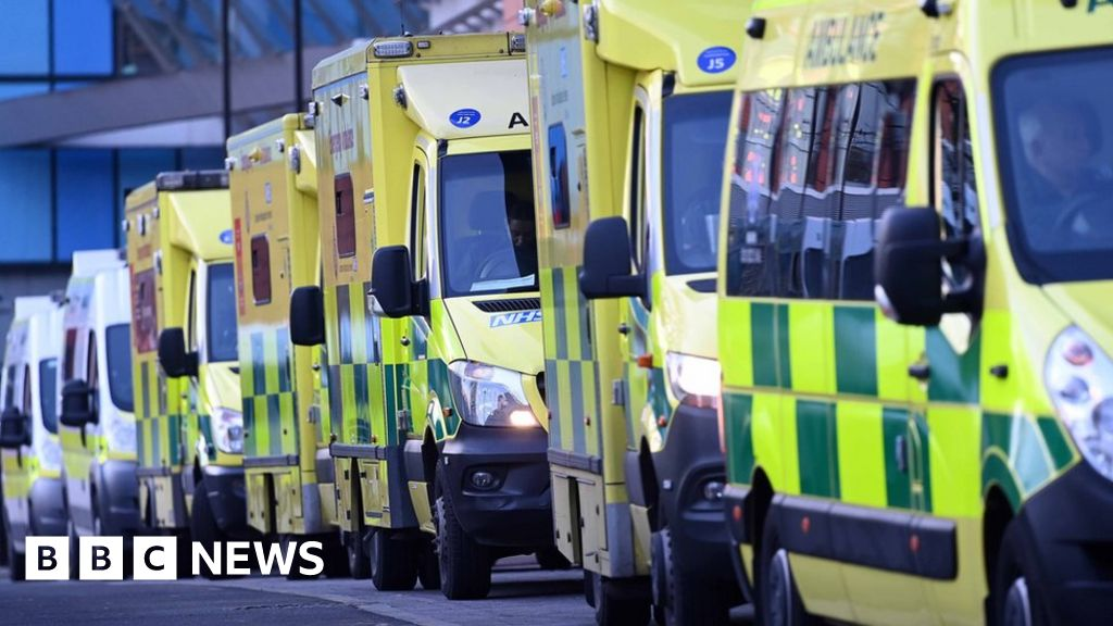 Ambulance waiting times in parts of England 'off the scale'