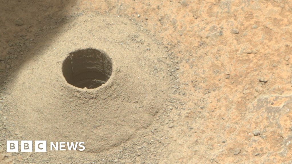 Perseverance Mars rover's first rock sample goes missing - BBC News