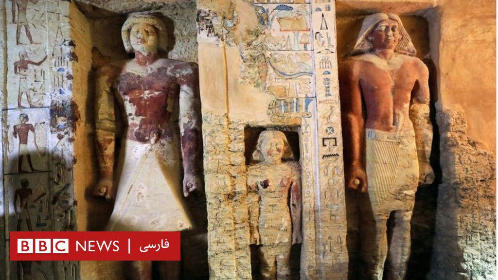 یک مقبره بی نظیر باستانی در مصر کشف شد - BBC News فارسی