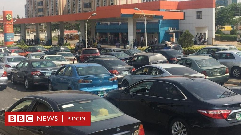 Abuja fuel shortage: NNPC fires long queues for gas stations in Nigeria's capital – Fotos