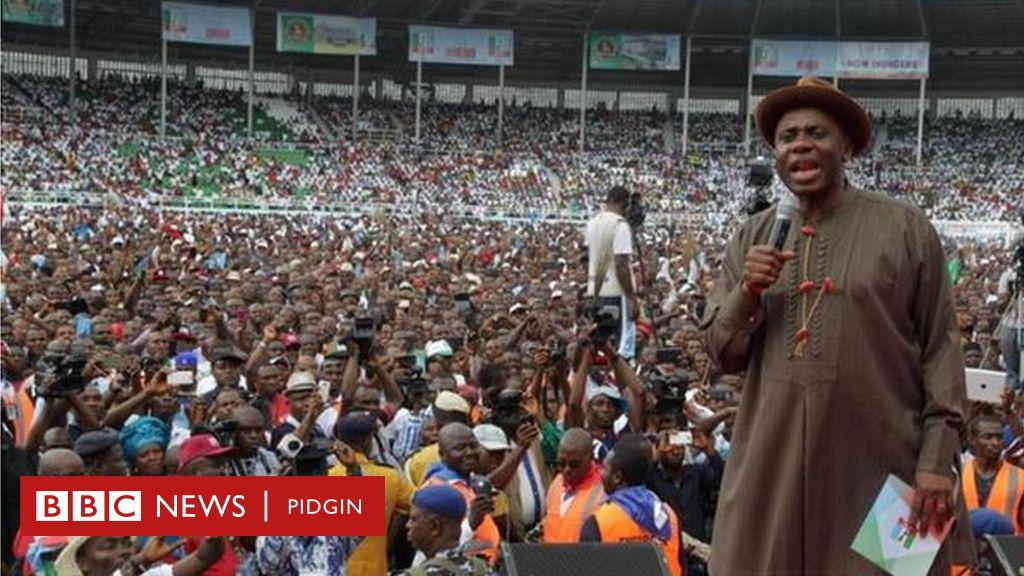 Nigeria Elections 2019: Stadiums wey don make APC, PDP kwanta - BBC