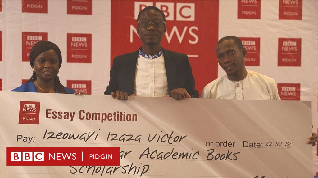 BBC Pidgin Essay Competition 2019: You fit write Pidgin? - BBC News