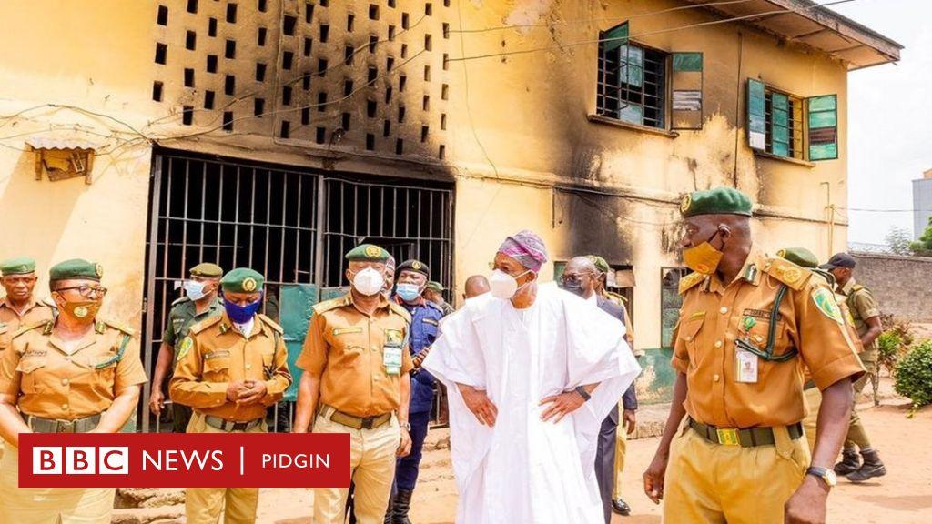 Nigeria Prison attackers no go live to regret am