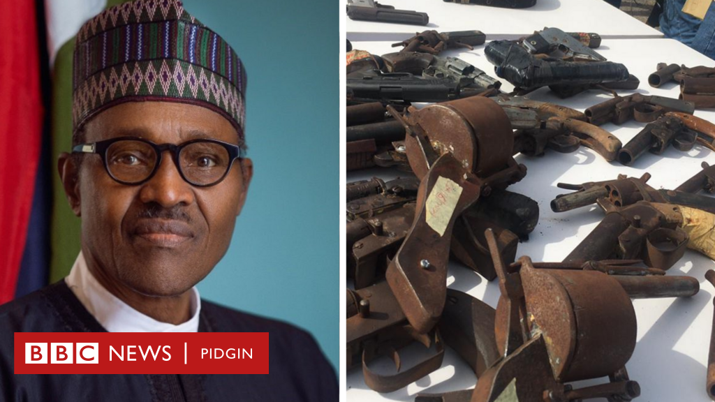 Wetin you need to know about di National Centre for the Control of Small Arms and Light Weapons wey President Buhari form wey to control small arms sake of insecurity