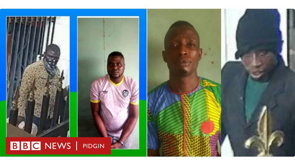 Offa Robbery: Police don arrest two suspects - BBC News Pidgin