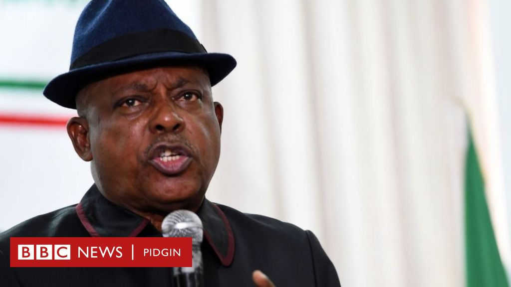 'Buhari don leave di leadership of Nigeria for two tok-tok pesin hands'