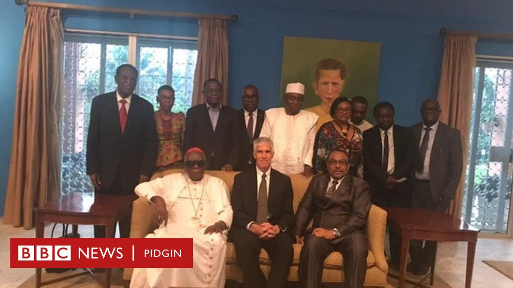 Us ambassador meet cameroon leaders for find solution for anglophone us ambassador meet cameroon leaders for find solution for anglophone crisis bbc news pidgin publicscrutiny