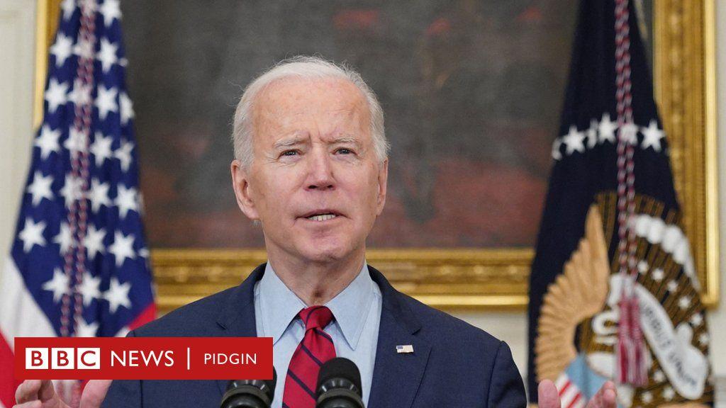 Biden Speech Today Joe Biden First Press Conference Reveal Us Immigration Gun Control North Korea Plans Bbc News Pidgin