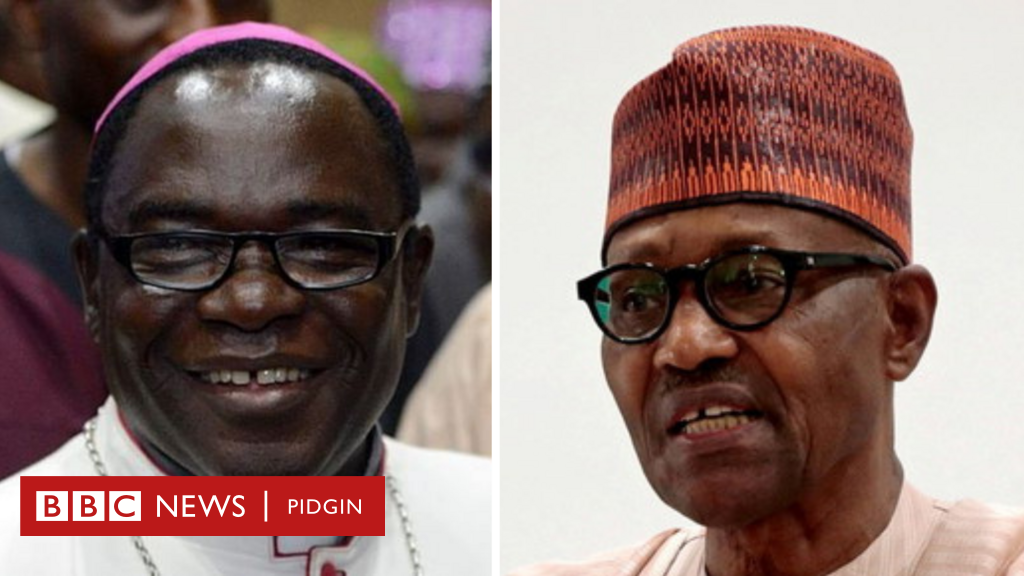 Buhari presidency reply Bishop Kukah statement for US Congress about Nigeria under di present administration