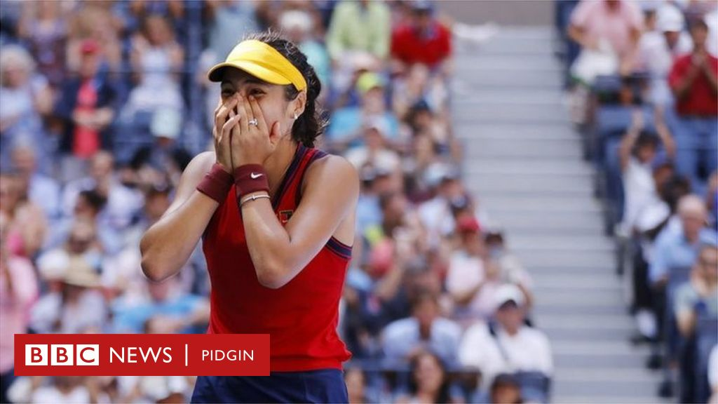 Emma Raducanu : Facts about di young tennis star wey qualify for Grand Slam semi-finals - BBC News