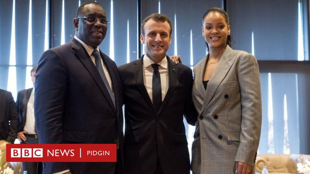 Rihanna enter Senegal after Illuminati threat - BBC News Pidgin