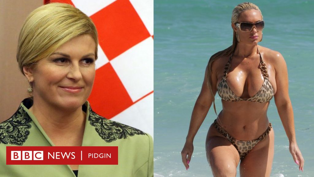 Nude kolinda grabar kitarović Croatian President