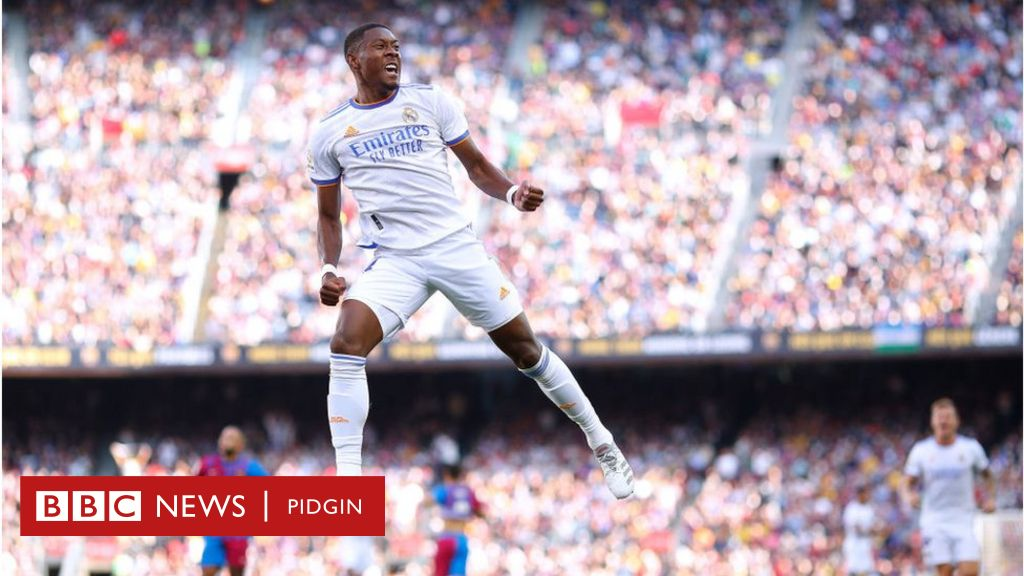 Barcelona vs Real Madrid: Alaba and Vazquez lead Real to El Clasico victory - BBC News