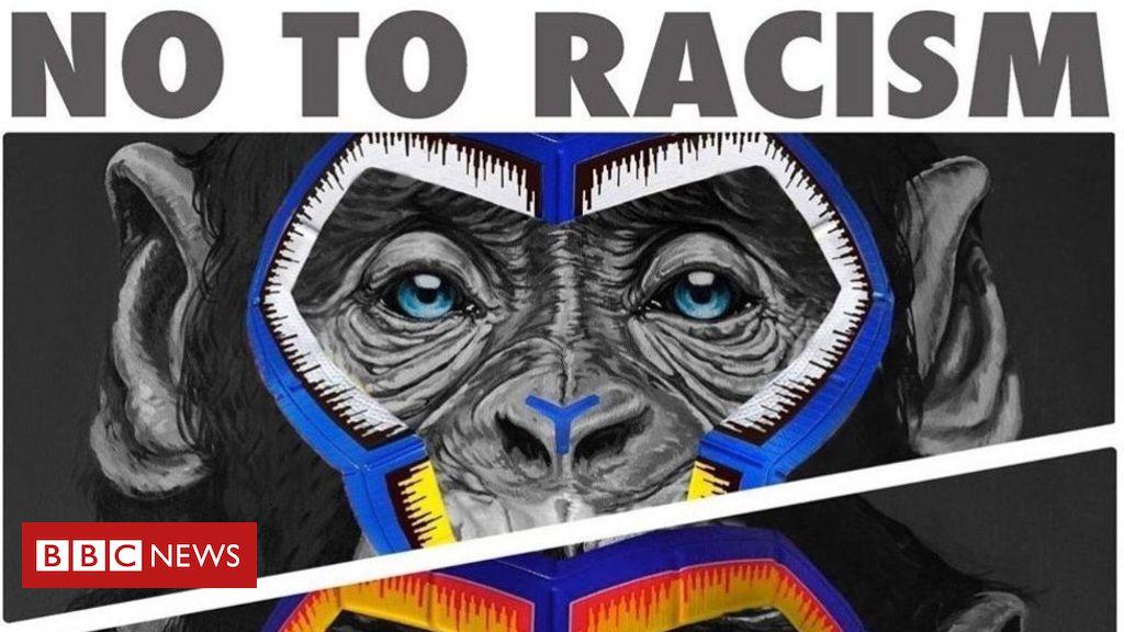 A polêmica decisão do campeonato italiano de futebol de combater racismo com imagens de macacos