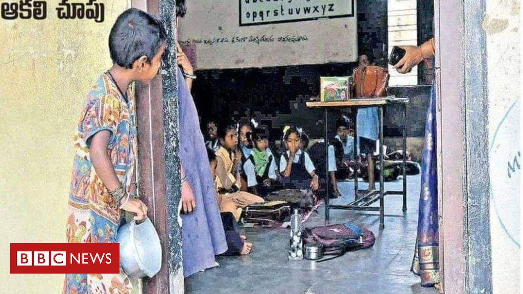 A história por trás de foto viral que rendeu vaga em escola para menina