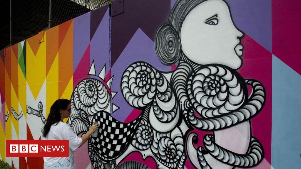 De Crime A Arte A Historia Do Grafite Nas Ruas De Sao Paulo Bbc
