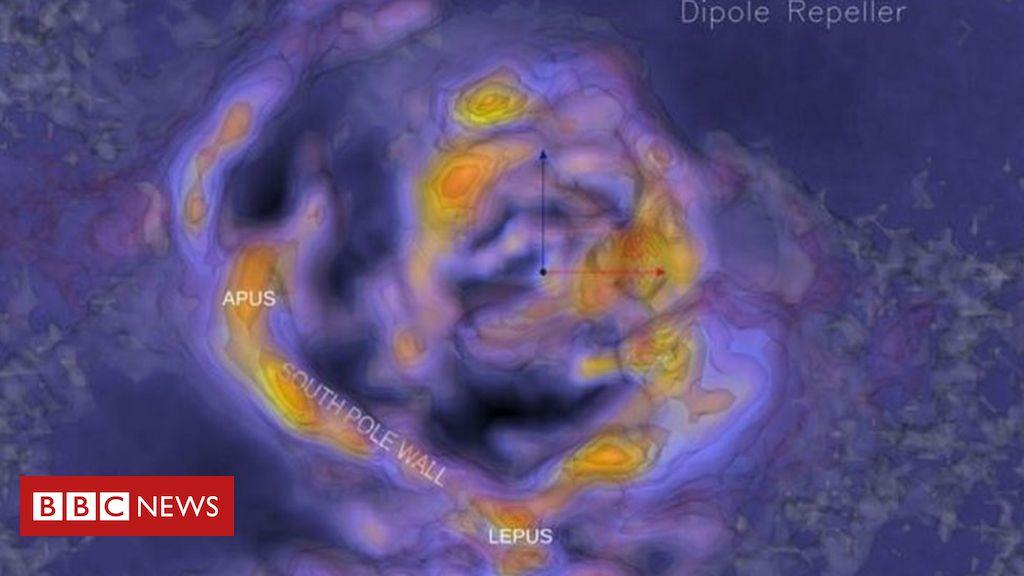 Muralha do Polo Sul: como é a gigantesca estrutura de galáxias recém-descoberta perto da Via Láctea