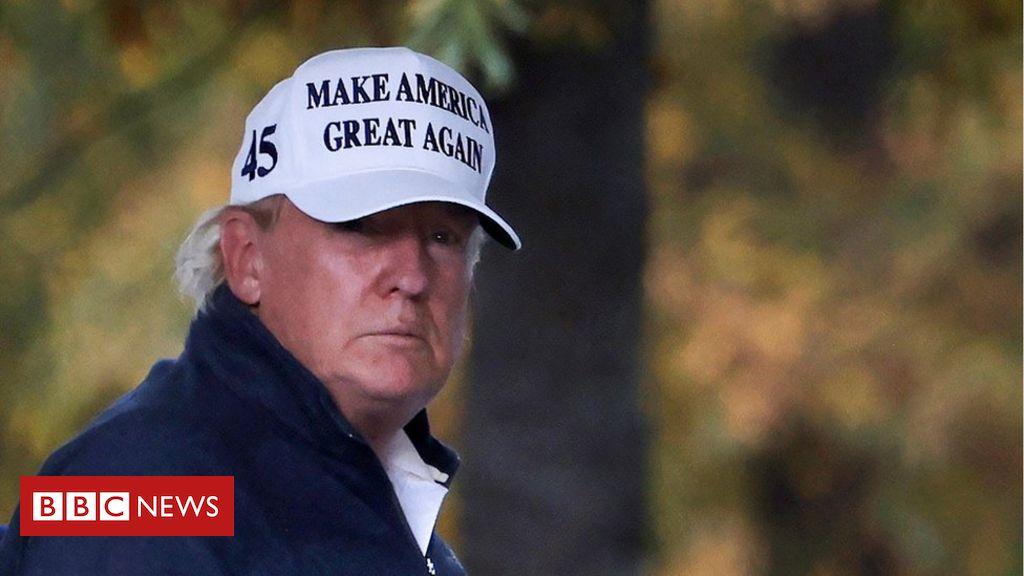 Como foi estar com Donald Trump no dia em que ele perdeu reeleição - BBC News Brasil
