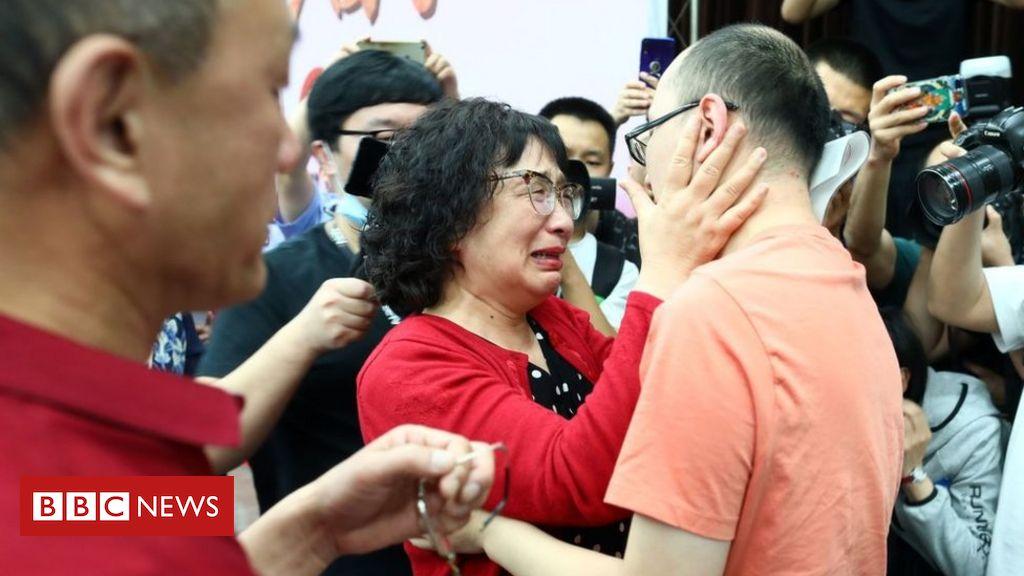 'Demorou 32 anos, mas finalmente encontrei meu filho sequestrado'