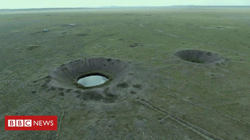 O campo de testes onde soviéticos explodiram quase 500 bombas atômicas -  BBC News Brasil