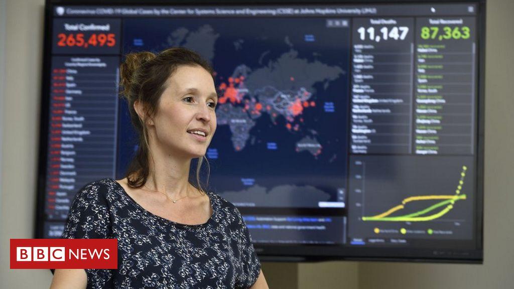 Site que traz avanço do coronavírus no mundo em tempo real tem 1 bilhão de acessos por dia