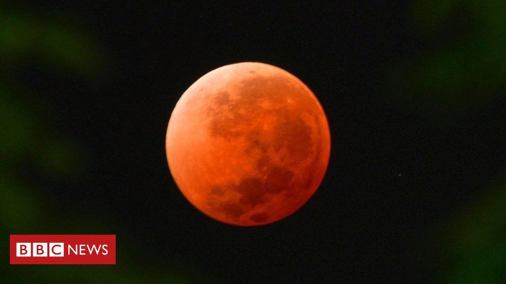c029592c7 Com eclipse total da lua, 'superlua de sangue' ficará visível neste domingo  - BBC News Brasil
