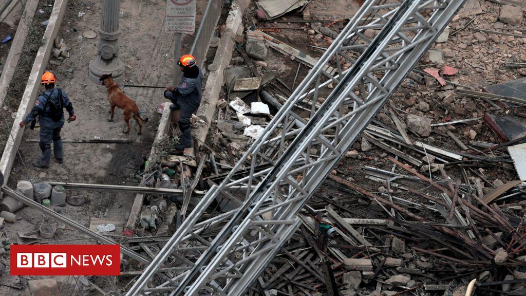 Polícia contabiliza 9 vítimas de desabamento de edifício em SP; quatro foram identificadas