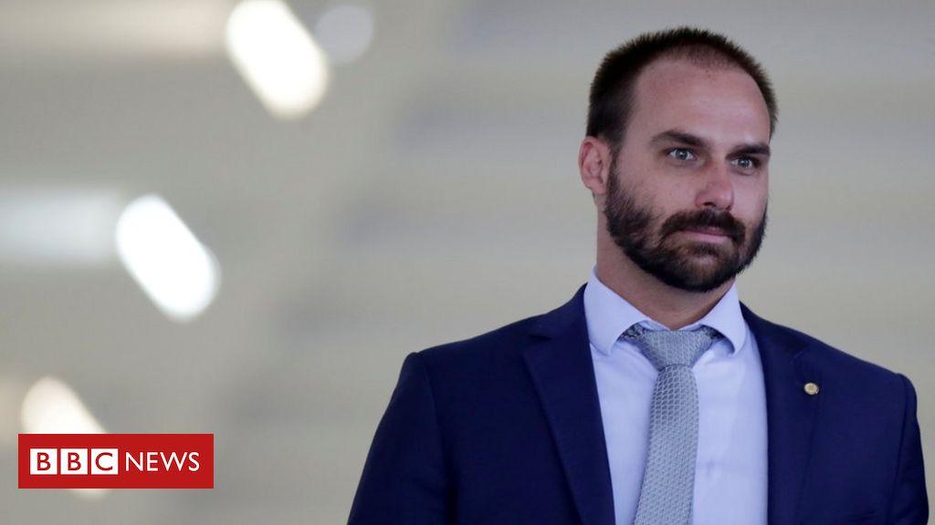 'Brasil está metendo os pés pelas mãos' com a China, diz ex-embaixador em Pequim após nova polêmica de Eduardo Bolsonaro - BBC News Brasil