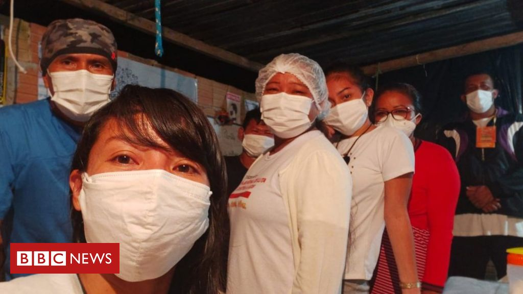 A técnica de enfermagem indígena que montou hospital de campanha com doações em Manaus