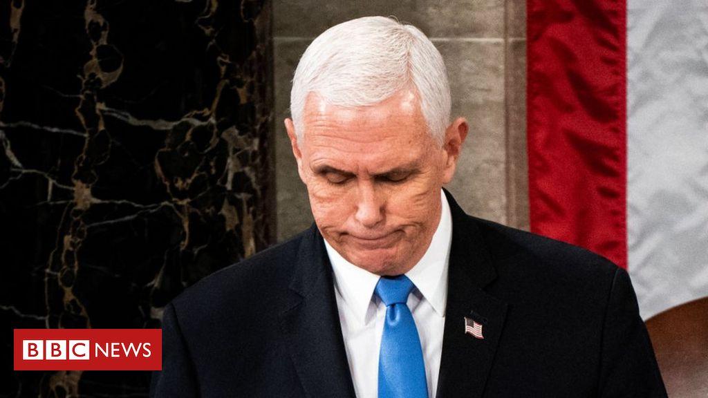 O novo e polêmico papel do vice Mike Pence nos últimos dias de Trump na presidência dos EUA - BBC Brasil