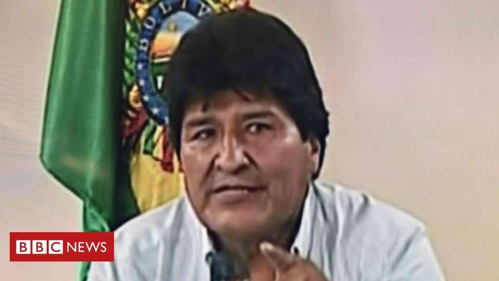 Após renúncia, Evo Morales anuncia saída da Bolívia rumo a asilo político no México
