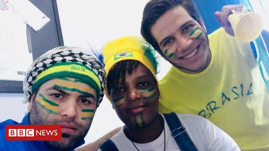 'Aprendi a sofrer com o brasileiro': a torcida de refugiados pelo Brasil na Copa da Rússia