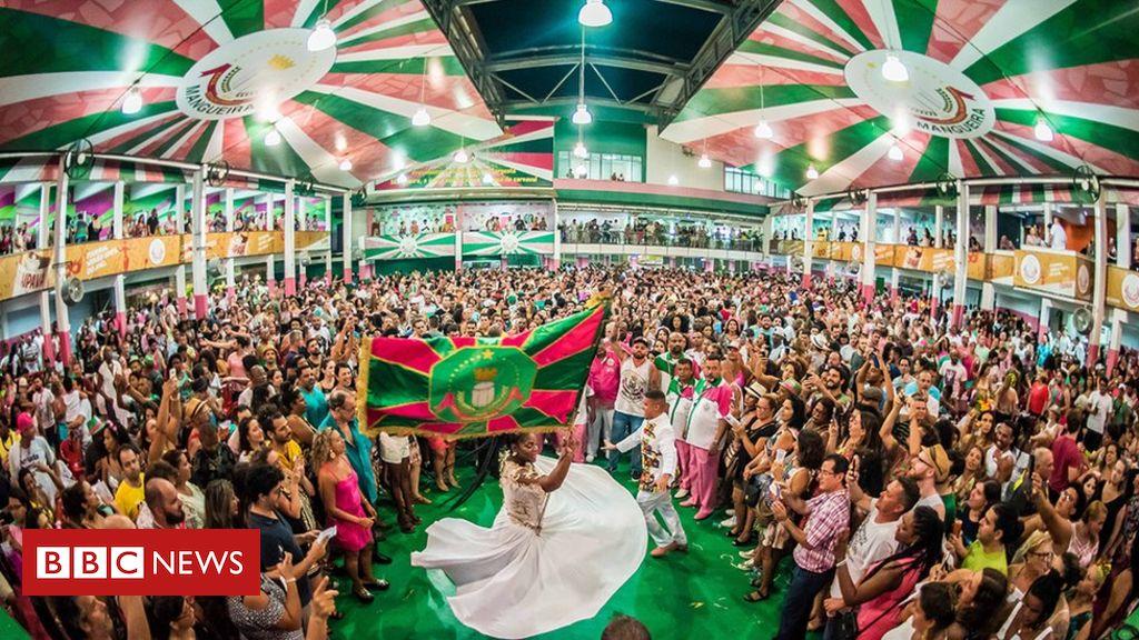 eac2d27c6 Carnaval 2019  As histórias do  país que não está no retrato  cantadas pelo  samba da Mangueira - BBC News Brasil