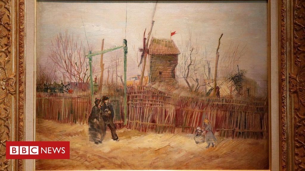 O quadro de Van Gogh que vai a leilão após um século 'escondido'