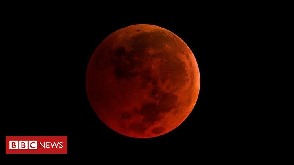 Nasa mostra ao vivo raro eclipse da 39 superlua azul de for Mostra nasa